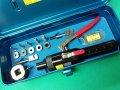 西田製作所切り欠き工具油圧ピッチングパンチ