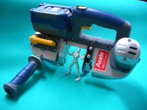 画像1: アサダ 充電式バンドソー H60Eco