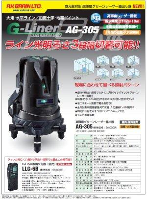 画像3: アックスブレーン受光器対応 高輝度グリーンレーザー墨出し器