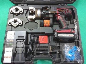 画像1: ベンカン充電式CUプレス専用締付工具セット