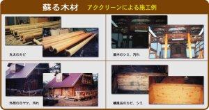 画像3: ケミックス 木材表面処理剤アククリーン