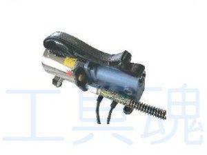 画像1: 西田製作所油圧ポンプ(電動単動式・手許スイッチ式)ホース2m付