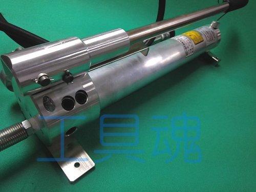 他の写真1: 西田製作所油圧ポンプ(手動単動式)ホース2m付