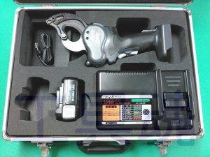 画像1: マクセルイズミREC-Li33充電式ケーブルカッタ