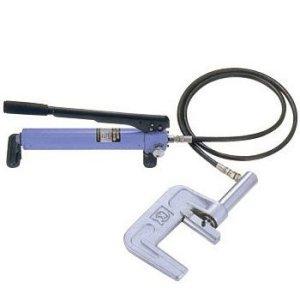 画像2: 亀倉精機 手動油圧パイプ断水機