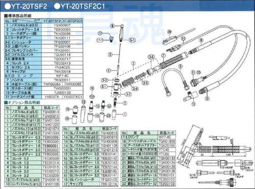 他の写真1: Panasonicフレキシブル型空冷式TIG溶接用トーチ
