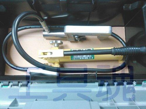 他の写真1: エコー精機パイプ圧着機(スクイズオフ工具)