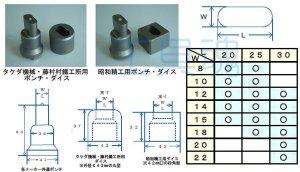 画像3: 福井機工商会 昭和精工用長穴ポンチ・ダイス