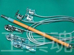 画像1: 長谷川電機工業送電線用アースフックセット