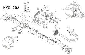 画像1: キョーワクリーナーKYC-20A用補給部品