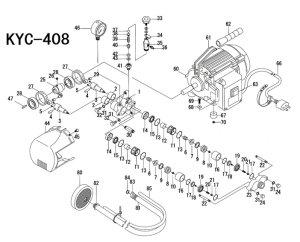 画像1: キョーワKYC-408用補給部品