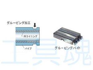 画像1: レッキス工業グルービングバイト