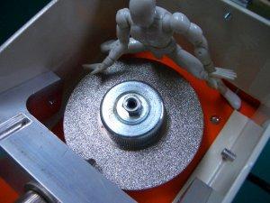 画像1: マツモト産業 タングステン研磨機用 ダイヤモンドディスク