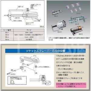 画像3: ガス用ポリエチレン管ソケットスクレーパー替刃